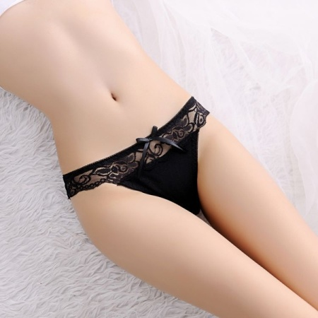 Ms Low Waist Bud Transparent LvKong Sexy Thong